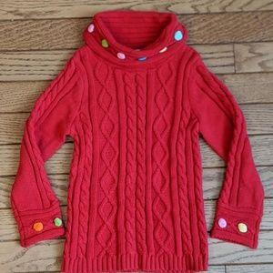 Gymboree Sweater Red Size 3 - 4